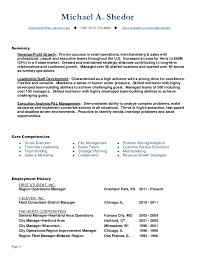 District Manager Resume Examples by Resume 7 Eleven