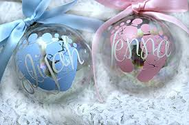 personalized baby christmas ornament amazing personalized baby s christmas ornament