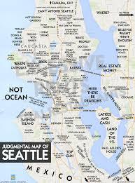 Seattle Traffic Map by Judgmental Maps Seattle Wa 2017 By Aneurismic Copr 2017