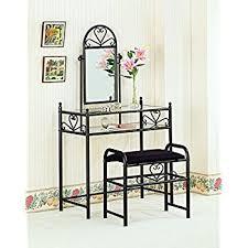 2 Piece Vanity Set Amazon Com Coaster 300180 Home Furnishings 2 Piece Vanity Set