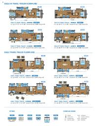 jayco trailers floor plans 2017 jayco eagle brochure rv literature