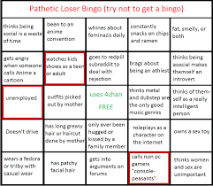 page 2 of comments at new pathetic loser bingo