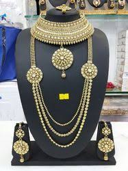 bridal set for rent bridal jewelry sets in noida uttar pradesh bridal jewellery sets