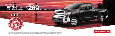 toyota offers new toyota tundra lease decatur al