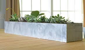 Concrete Succulent Planter Zinc
