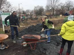 first work day of 2015 u2013 huge success bruce monroe community garden