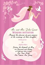 wedding programs wording sles wedding invitation wording etiquette designmantic