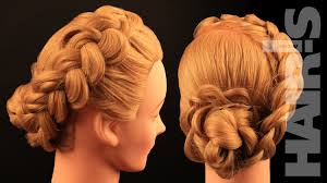 Elegant Chignon Hairstyle by How To Do A Dutch Braid With Braided Hair Rose Chignon Hairstyle
