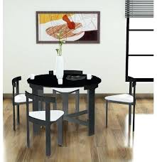 space saver table set space saving dining room tables table with hidden chairs space saver