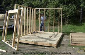 Free Plans For Building A Wood Shed by Shed Plans How To Build A Shed Icreatables