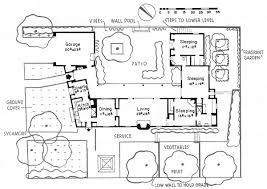 Courtyard Style House Plans by Adobe House Plans Punta Gorda Mediterranean Home Plan 047d 0204