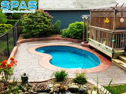 petite trilogy fiberglass in ground pool it is a jewel in the
