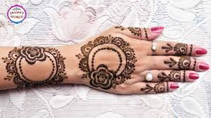 how to apply gulf henna designs for for eid diwali