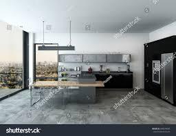 open plan kitchen modern normabudden com modern spacious open plan modern kitchen stock illustration