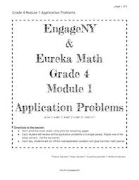 math problems for grade 4 engageny and eureka math grade 4 application problems for all modules