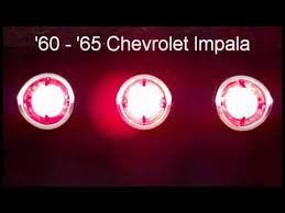 04 impala led tail lights 1960 1965 impala led sequential tail lights by easy performance