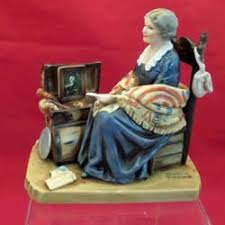 memories figurine by norman rockwell