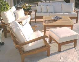 Hd Patio Furniture by Home Decor Alluring Teak Patio Set To Complete The Beauty Of