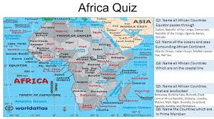 Africa Countries Map Quiz by Q1 Name The Africa U0027s Newest Nation Which Gained Independence On