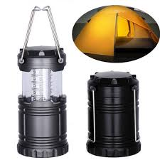 hand crank led light led cing outdoor light collapsible portable lanterns torch