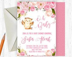 owl baby shower owl baby shower etsy