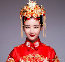 traditional hair accessories 2018 traditional costume wedding dress classical