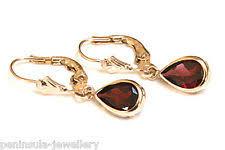 gold earrings uk 9ct gold leverback earrings ebay
