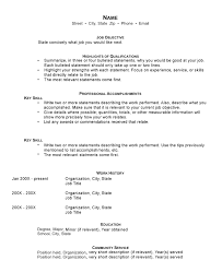 Skills Resume Templates Skills And Accomplishments Resume Examples Resume Example And