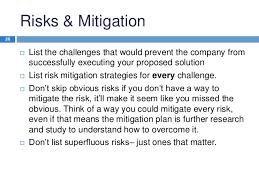 Challenge Risks Mba Study Presentation Template