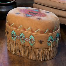 Animal Ottomans by Western Leather Furniture U0026 Cowboy Furnishings From Lones Star