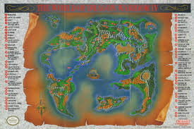 Phantasy Star 2 World Map by Post Awesome Adventure Game Maps Page 2 Neogaf
