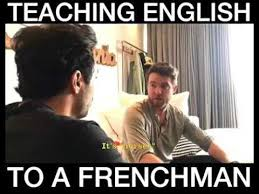 French Meme - when you teach your french friend english youtube