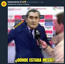 Barca Memes - los memes del roma fc barcelona de chions league