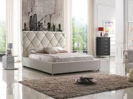 Best Bedroom Furniture Images On Pinterest Bedroom Modern - White leather contemporary bedroom furniture
