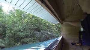 installing basement hopper windows in the clerestory upper
