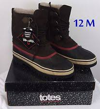 s totes boots size 12 totes winter s boots ebay