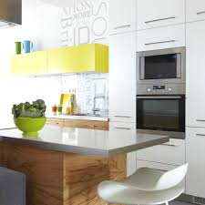 Raw Wood Kitchen Cabinets Kitchen Liven Up The Kitchen With Colorful Option Decoroption