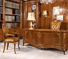 Wood Office Furniture by Luxury Office Furniture In Solid Wood Made In Italy
