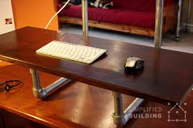 Standing Desk Diy by Diy Standing Desk Converter Step By Step Plans Simplified Building