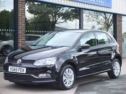 volkswagen polo black used volkswagen polo 1 2 tsi bluemotion tech se 5 door for sale in