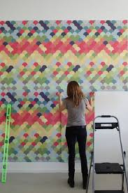 peel and stick wallpaper tiles creative wall ideas peel stick wallpaper heather zerah interiors
