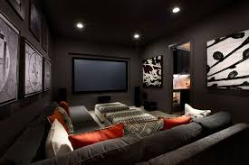 living room astonishing media room sofa home theater couch bed