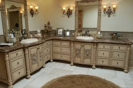 Handmade Custom Faux Finish Master Bathroom Cabinets By Westend - Kitchen cabinets custom made