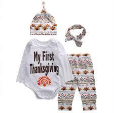 thanksgiving excelent my thanksgiving boy 4pcs