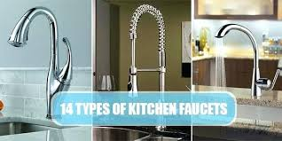 types of kitchen faucets kitchen faucet types kitchen faucet comparison for different type of