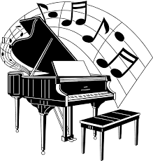 piano free stock photo illustration of a piano with music