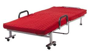Folding Rollaway Bed Alcove Folding Rollaway Bed Red Color Half A Home 137 More