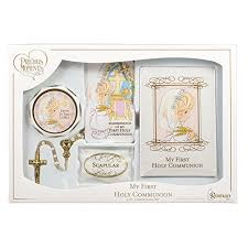 communion gifts for precious moments holy communion girl deluxe 6