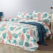 Seashell Duvet Cover Coastal Bedding Comforters Quilts Bedspreads Touch Of Class