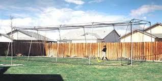 backyard indoor outdoor baseball softball batting cage